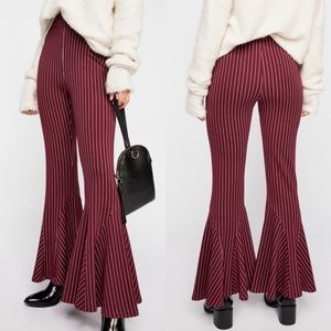 NWT Free People High Rise Flared Bell Bottoms 2